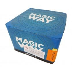 Kompaktní ohňostroj MAGIC WAY 49 ran 20mm