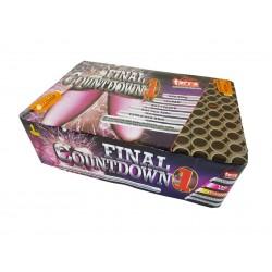 Kompaktní ohňostroj FINAL COUNTDOWN 150 ran 20mm