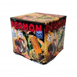 Kompaktní ohňostroj PERMON 25 ran 20mm